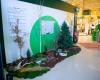 décor saisonnier home végétal événement grand magasin