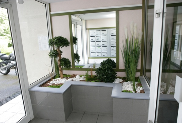 Jardins Intérieur Moderne Home Végétal